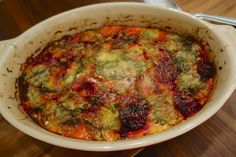 Fennel and beet gratin