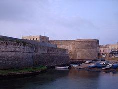 Scorcio del Castello Angioino di Gallipoli