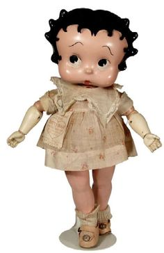 Betty Boop composition doll