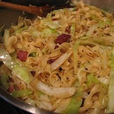 Cabbage and Noodles - Holidays