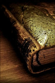 love-and-light-from-my-heart: Book of the Ancients by *Forestina-Fotos Old Books, Antique Books, Vintage Books, Antique Gold, Hawke Dragon Age, Book Libros, Book Nooks, Book Of Shadows, I Love Books
