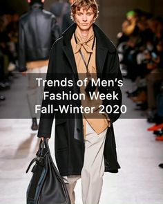 Trends of men's fashion week Let's dive into the world of men's fashion of 2020 and find out the future trends of the autumn season. Mens Fashion Week, Men's Fashion, Fashion Trends, Mens Luxury Shirts, Future Trends, Fall Winter, Autumn, Shirt Maker, Sons