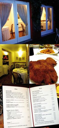 #gastronomy #menu #hostal Our recommended hostel in Quito: Hostal de la Rabida http://www.placeok.com/hostal-rabida-hostales-en-quito/