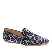 J.Crew - Georgie Leopard Loafers