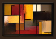 abstract, warm....love this!