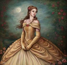 This Artist Shows What Disney Princesses Would Look Like If They Were Classical Paintings (6 Pics)