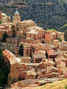 The beautiful Albarracín in Teruel , Aragón, Spain, by Kamikaze Beautiful Places To Visit, Wonderful Places, Cool Places To Visit, Places To Travel, Amazing Places, Places Around The World, Oh The Places You'll Go, Magic Places, Voyage Europe
