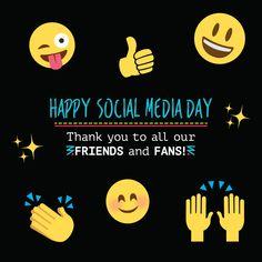 ¿Sabías que... el 30 de junio es Día de las Redes Sociales? :)  Gracias a ellas podemos estar en contacto con nuestros pacientes y hacerles llegar información de valor y una que otra nota chistosa.  ¡Muchas gracias por seguirnos y darlos Like!