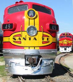 Image detail for -Texas 2009 : Dallas Railroad Museum : Santa Fe 49