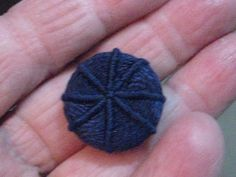 Poems of Lace & Embroidery: Dorset & Grindle Buttons