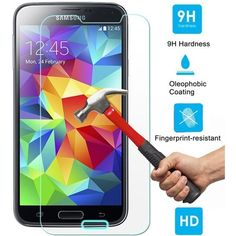 b307606eab8 [ 3 Pack ] Tempered Glass Screen Protector For Samsung Galaxy Tempered  Glass Screen Protector - Guard Against Scratches and Drops - Ultra HD Clear  With ...