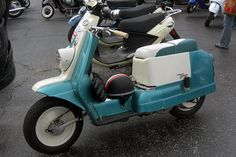 """1960-1965:  The Harley-Davidson """"Topper"""" Scooter"""