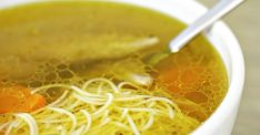 Chicken soup (rosół z kury) - Recipes - Polish Plate Croatian Recipes, Hungarian Recipes, Comfort Foods, Hungarian Cuisine, Hungarian Food, Chicken Soup Recipes, Polish Chicken Soup Recipe, Vegetarian Chicken, Polish Recipes
