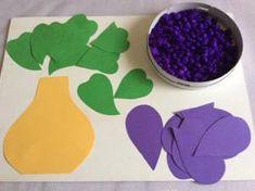Šeřík – koláž Spring Crafts, Paper Crafts, Dibujo, Tissue Paper Crafts, Paper Craft Work, Papercraft, Wrapping Paper Crafts, Fall Crafts, Paper Crafting