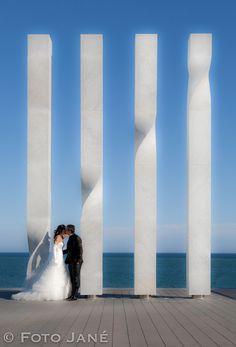 © FOTO JANÉ - wedding photographer Barcelona Barcelona, Wedding, Weddings, Valentines Day Weddings, Barcelona Spain, Marriage, Chartreuse Wedding