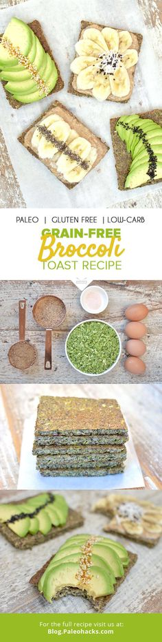 """Top this nutrient-dense """"toast"""" with anything from almond butter to sliced avocado for a fiber-friendly breakfast."""