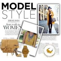 Fashion Trendy Outfit Yellow Streetstyle Look