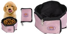 The Wallet Travel Pet Bowl for dogs and owners on the go who want more than just functionality. Made with authentic seat belt material plus a double ply waterproof interior. It will last for years and look great every time you use it. It collapses to less than 1 inch thin and is waterproof. Give your pet the essentials they require. Perfect for traveling, hiking, camping, picnics or just about any outdoor / indoor events. Easy to pack and safe!FEAURES Collapses and zips to ...