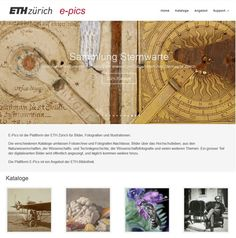 E-Pics image platform with optimised entry page