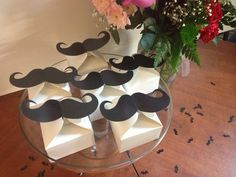 Moustache/Mustache Party Favor boxes