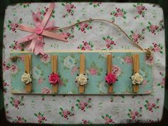 DIY Peg plaque, tutorial from The Working Mums Blog Spot.