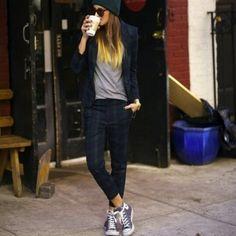 new style 00697 05f7d Converse Grey Converse Converse Shoes Tomboy Fashion, Fashion Mode, Boyish  Fashion, Fashion News