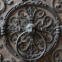 Antique Grey Doorknocker