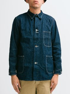 Orslow | 40's Coverall Coat One Wash