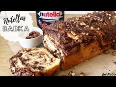 Óriási Nutellás BABKA 🌰🍫 - BebePiskóta - YouTube Nutella, Sweet Recipes, Banana Bread, French Toast, Baking, Breakfast, Desserts, Youtube, Food