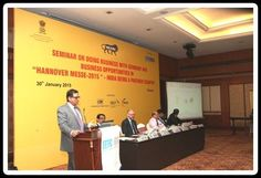 Shri S Raj, Regional Director, Indo German Chamber of Commerce addressing the Participants.