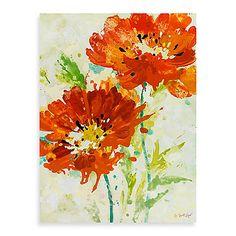 Fabrice de Villeneuve Studio Spiced Poppies Wall Art