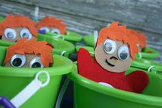 Ponyo Party Favors with Ponyo Puppet!