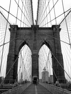 Andreas Feininger - Brooklyn's Bridge... Love it!
