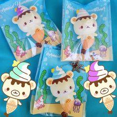 yummiibear squishy creamiicandy mermaid donut mascot yummiibear icecream bear mascot buy shop online USA europe australia
