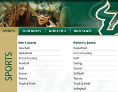 USF sports Men and Women