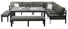 Modular Lounges - Houston Dining Modular - Segals Outdoor Furniture Perth