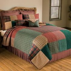 Greenland Home Fashions New Bohemian Cotton Patchwork Quilt Set (Sham Separates) - Overstock Shopping - Great Deals on Quilts Colchas Quilt, Twin Quilt, Quilt Bedding, Bedding Sets, Quilting, Boho Bedding, Luxury Bedding, Bohemian Quilt, Bed Duvet Covers