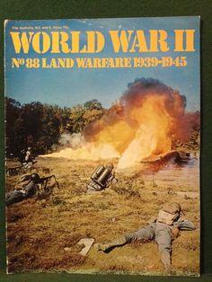 World War II Magazine Orbis Publishing 1974 Vol 6. No.88 Land Warfare 1939-1945