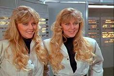 Denise and Dian Gallup  .  .  .  Wrigley's Doublemint Gum Twins  . . .    appeared in Spaceballs