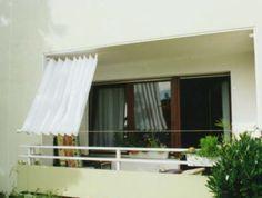Balkon Sichtschutz Loggia Typ