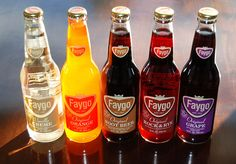 Faygo was founded in Monroe Michigan on November 4, 1907, as Feigenson Brothers Bottling Works by Russian immigrants Ben and Perry Feigenson.