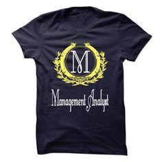 Cool Management Analyst T Shirt