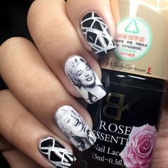 Marilyn Monroe Nails | Pretty Long & Short Square Nails Inspiration