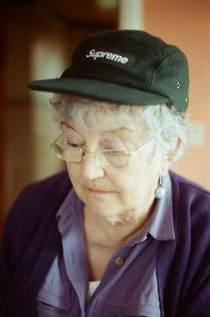 grandma, supreme, skate