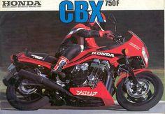 Honda CBX 750 FE, coloris R110