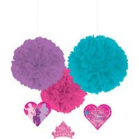 Frozen birthday party supplies - hanging decorations