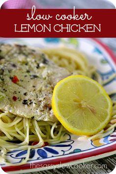 Slow Cooker Lemon Chicken