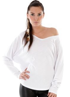 Oversize Shirt weiss: LA FEE MARABOUTEE, France