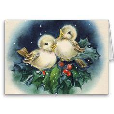 Fröhliche Weihnachten! Vintage Greeting Cards