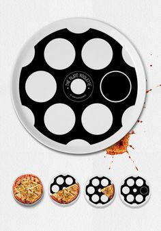 Grab your friends for some #pizza roulette! Loser has to pay for the pie...or bake the next one!